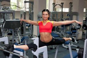 Программа для фитнес клуба установлена в Антей