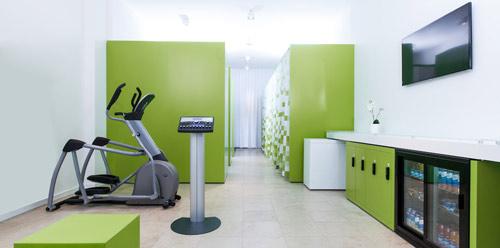 Программа для фитнес клуба установлена в студии fitbox