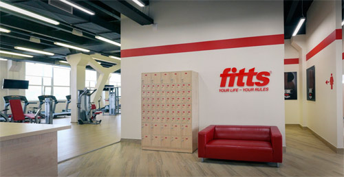 Программа для фитнес клуба установлена в Фиттс