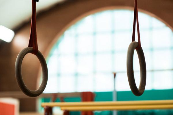Программа для фитнес клуба установлена в гимнастическом центре