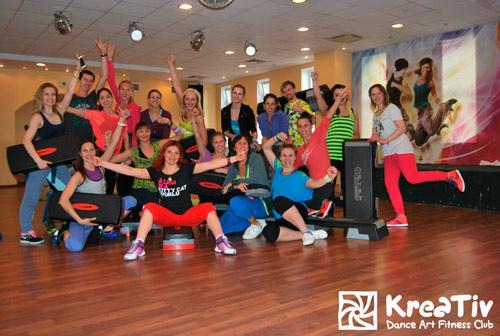 Программа для фитнес клуба установлена в Креатив