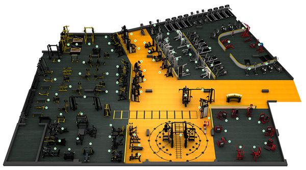 Программа для автоматизации фитнес клуба установлена в Панда Джим