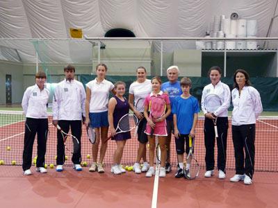 Автоматизация теннисного клуба