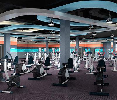 Программа для фитнес клуба установлена в Санта моника